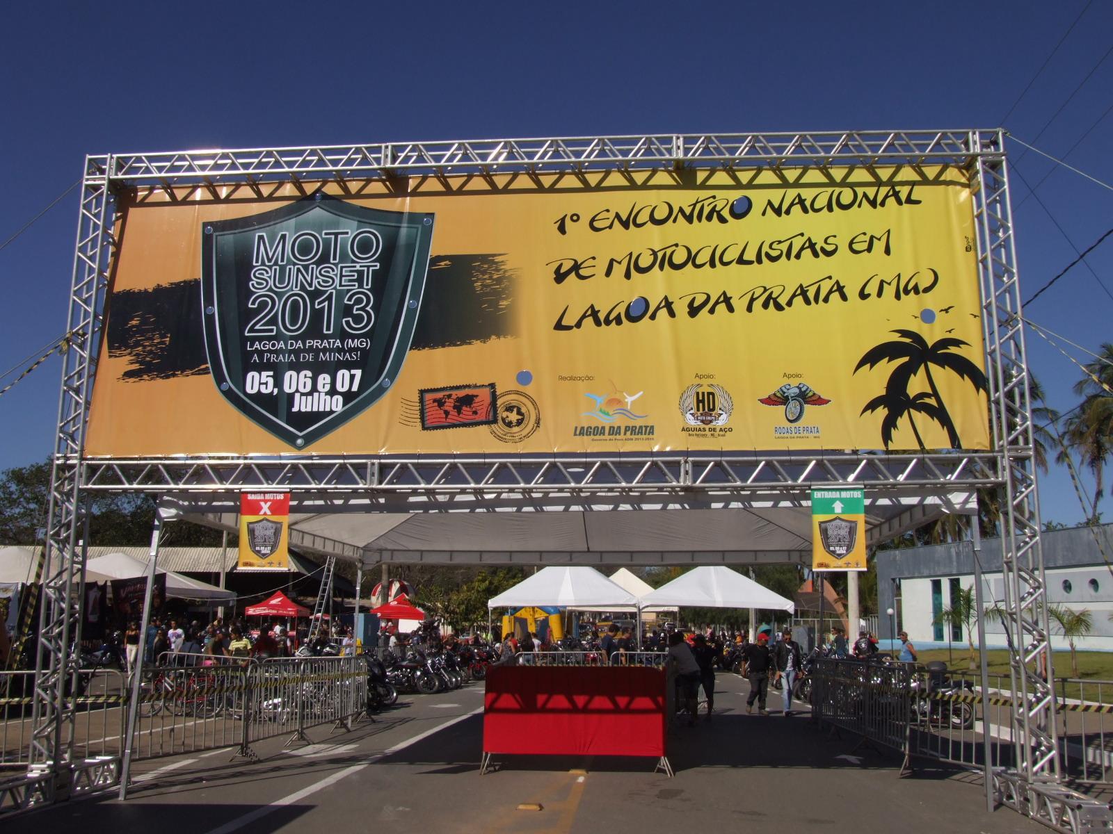 Entrada do evento 2013